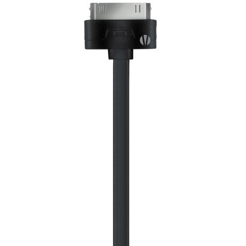 Vivitar 3' 30-Pin Apple Connector to USB Cable (Black)