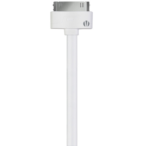 Vivitar 3' 30-Pin Apple Connector to USB Cable (White)