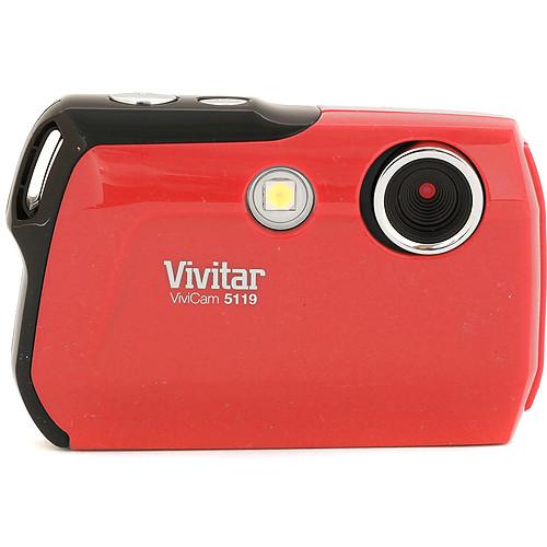 Vivitar ViviCam 5119 Digital Camera (Red)