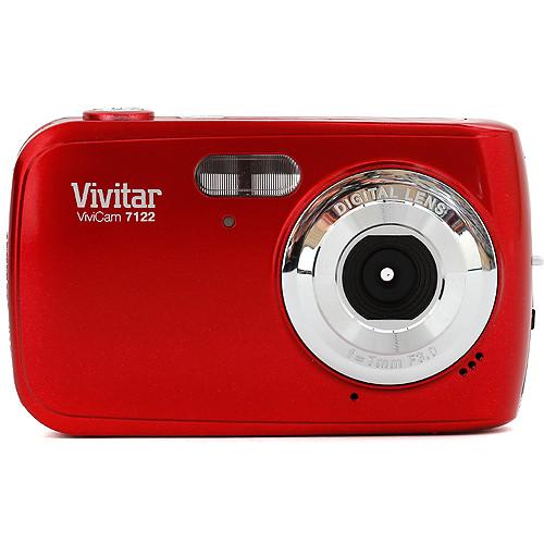 Vivitar ViviCam 7122 Digital Camera (Red)
