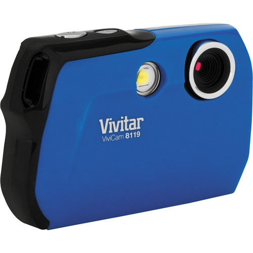 Vivitar ViviCam V8119 (Blue)