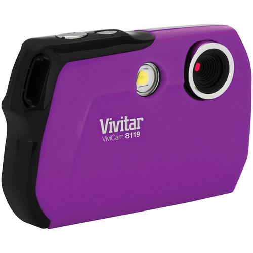 Vivitar ViviCam V8119 (Purple)
