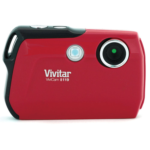 Vivitar ViviCam V8119 (Red)