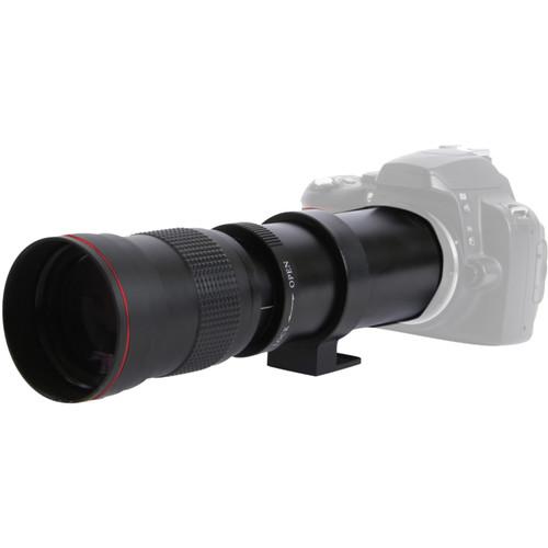 Vivitar 420-800mm f/8 Telephoto Zoom Lens