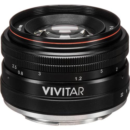 Vivitar 50mm f/2 Lens for Sony E