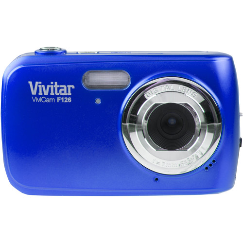 Vivitar F126 Digital Camera (Blue)