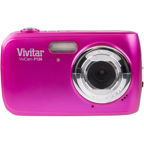 Vivitar F126 Digital Camera (Pink)