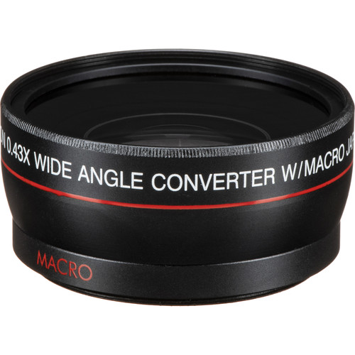Vivitar 55mm 0.43x Wide Angle Attachment Lens