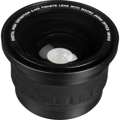 Vivitar 58mm 0.42x Fisheye Lens with Macro Adapter