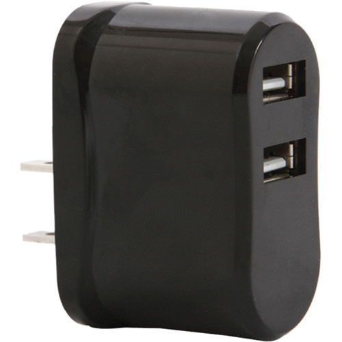 Vivitar High Speed USB Wall Charger (Black)