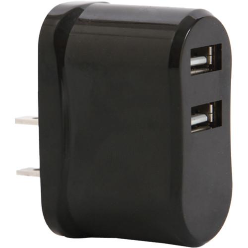 Vivitar High Speed USB Wall Charger (Black)