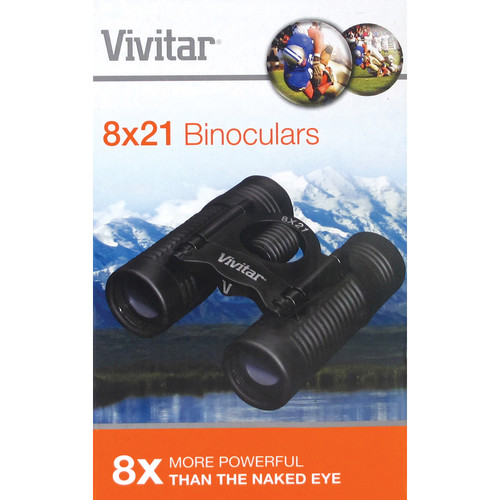 Vivitar 8x21 Classic Series Dual Barrel Binocular