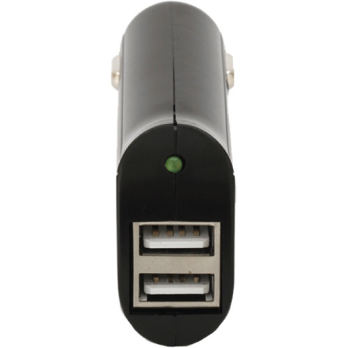 Vivitar High Speed USB Car Charger (Black)