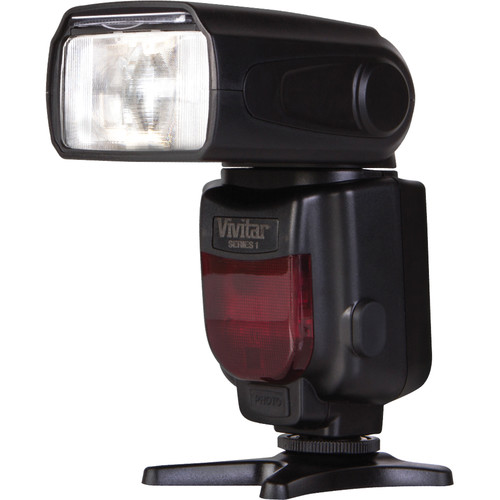 Vivitar DF-372 Dedicated TTL Flash for Canon Cameras