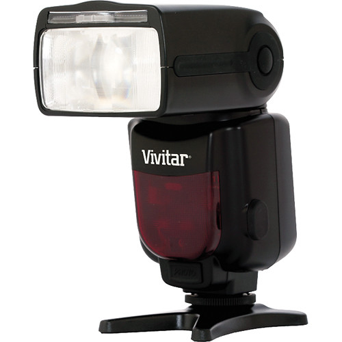 Vivitar DF-683 Radio Wireless TTL Power Zoom Flash for Canon Cameras