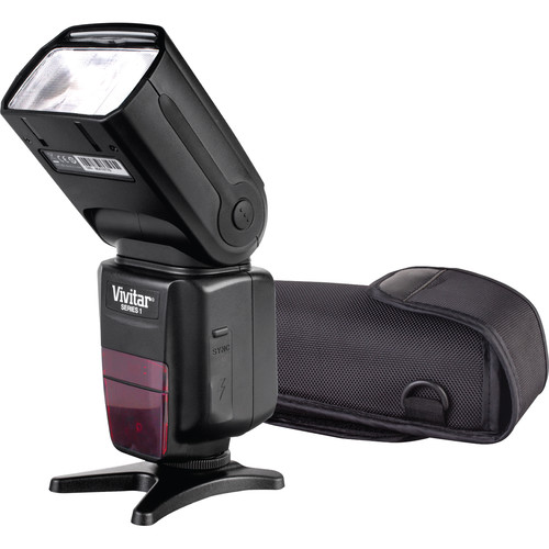 Vivitar DF-783 Wireless TTL Flash for Canon Cameras
