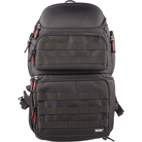 Vivitar Backpack for DSLR Camera/Camcorder (Black)