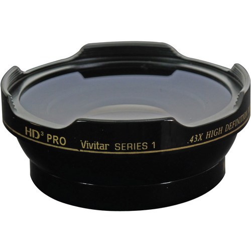 Vivitar HD3-43 0.43x Wide Angle Conversion Lens for 62mm Filter Thread