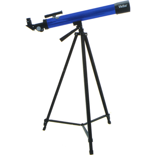 Vivitar 75160 50mm f/12 Refractor Telescope (Blue)