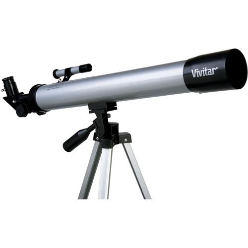 Vivitar TEL-50600 Refractor Telescope with Tripod