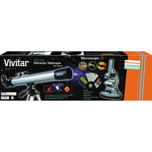 Vivitar TELMIC-30 Telescope / Microscope Kit