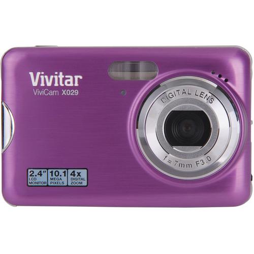 Vivitar ViviCam X029-12 Digital Camera (Grape)