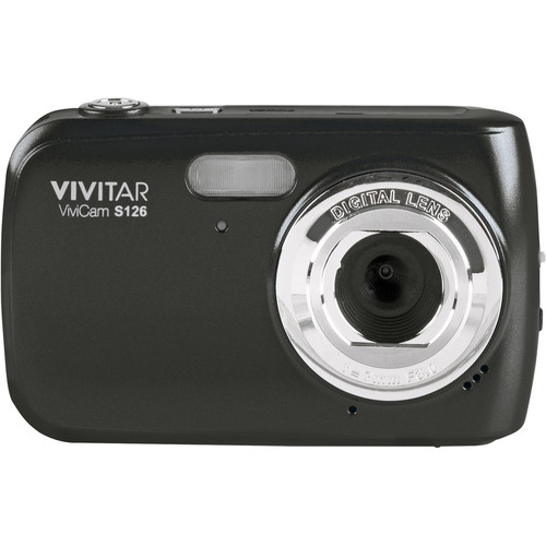 Vivitar ViviCam S126 Digital Camera (Black)