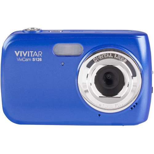 Vivitar ViviCam S126 Digital Camera (Blue)
