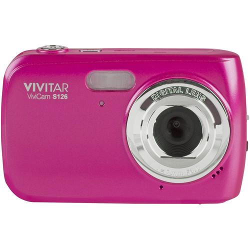 Vivitar ViviCam S126 Digital Camera (Pink)