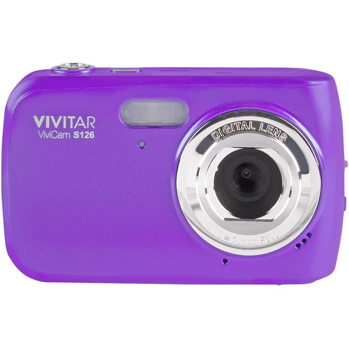 Vivitar ViviCam S126 Digital Camera (Purple)