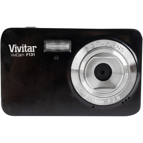 Vivitar ViviCam S131 Digital Camera (Black)