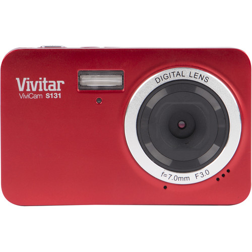 Vivitar ViviCam S131 Digital Camera (Red)