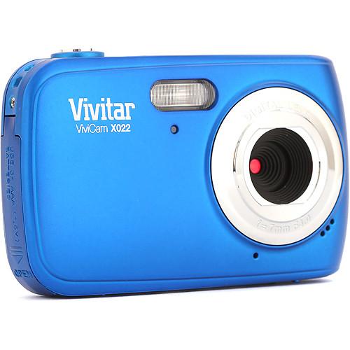 Vivitar ViviCam X022 Digital Camera (Blue)