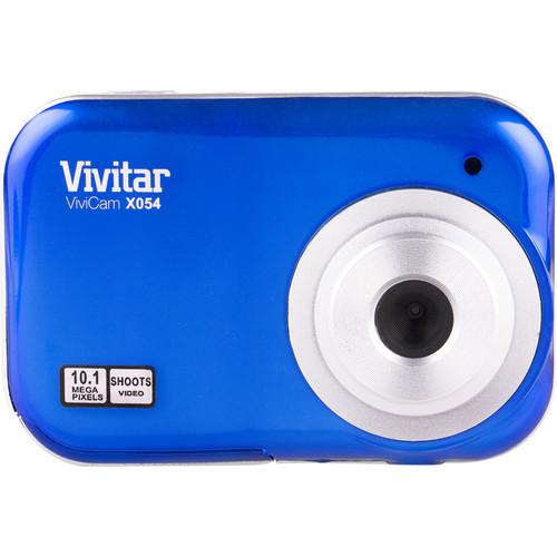 Vivitar ViviCam X054 Digital Camera (Blue)