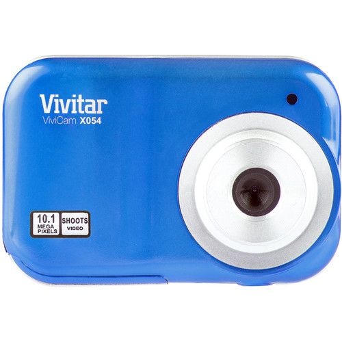 Vivitar ViviCam X054 Digital Camera (Blue)