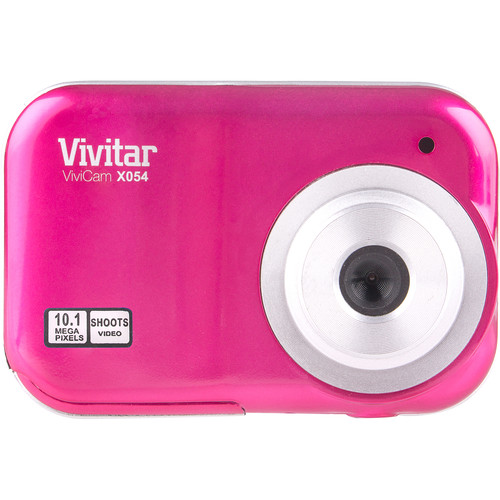 Vivitar ViviCam X054 Digital Camera (Pink)