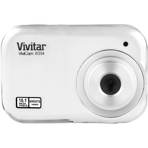 Vivitar ViviCam X054 Digital Camera (White)