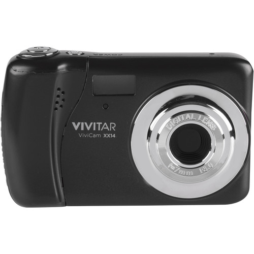 Vivitar ViviCam XX14 Digital Camera (Black)