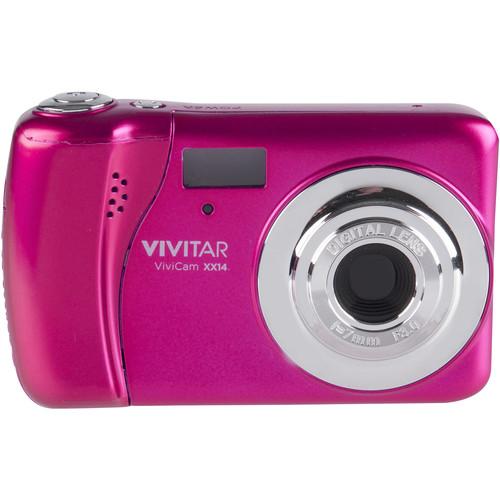 Vivitar ViviCam XX14 Digital Camera (Pink)