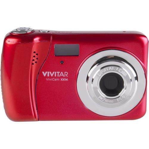 Vivitar ViviCam XX14 Digital Camera (Red)