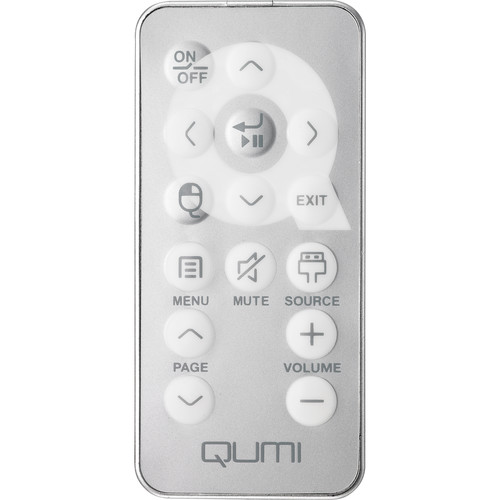 Vivitek Replacement Remote Control for Qumi Q5/Q7