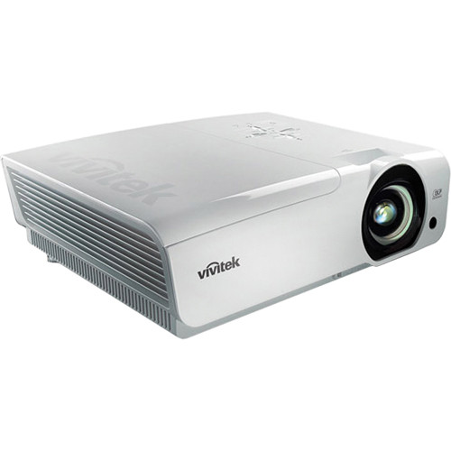 Vivitek D966HD-WT 1080p Multimedia Projector (White)