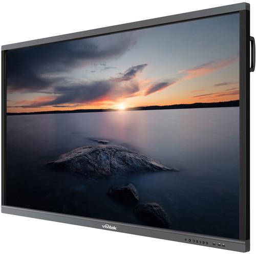 "Vivitek NovoTouch LK7530I 75"" 4K UHD Interactive LED Flat Panel Display"