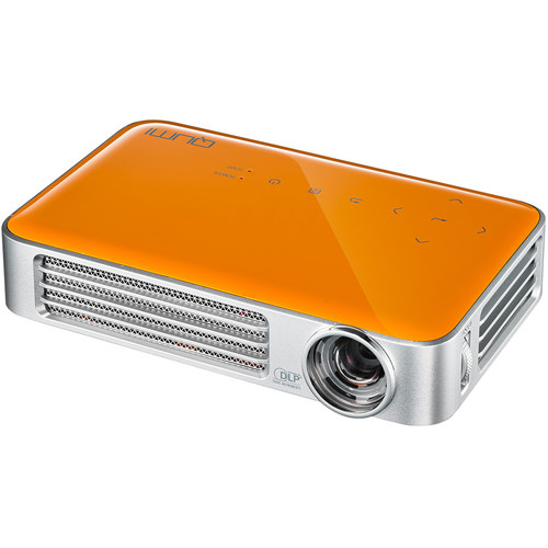 Vivitek Qumi Q6 800-Lumen WXGA DLP Pico Projector with Wi-Fi (Orange)