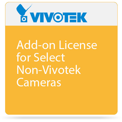 Vivotek Add-on License for Select Non-Vivotek Cameras