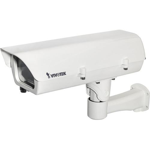 Vivotek Camera Enclosure with Optional Fiber Media Converter (24 VAC Input)