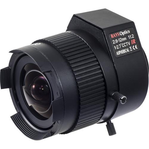 Vivotek CS-Mount 2.8-12mm f/1.2 Auto-Iris Varifocal Lens