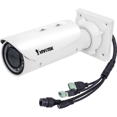 Vivotek C Series IB8382-EF3 5MP Outdoor Bullet Network Camera with Heater and 3.6mm Fixed Lens