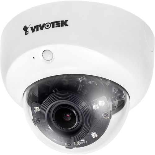 Vivotek 2MP HD Day/Night Indoor Dome Network Camera with 2.8-12mm Lens