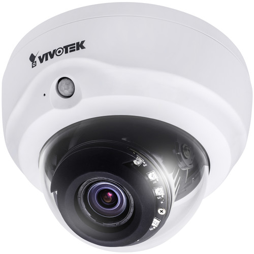Vivotek V-Series Fixed Network Dome Camera with 2.8 to 12mm Varifocal Lens